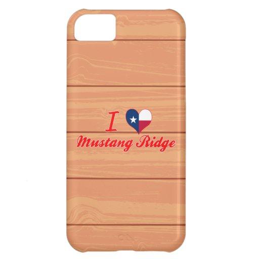 J'aime le mustang Ridge, le Texas Coques Pour iPhone 5C