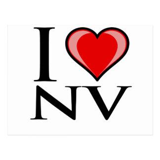 J'aime le nanovolt - Nevada Carte Postale