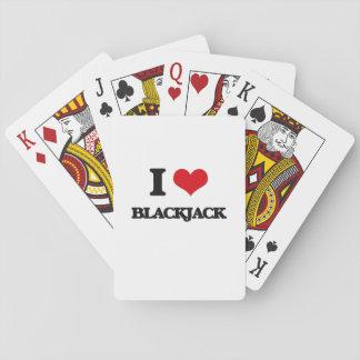 J'aime le nerf de boeuf cartes à jouer
