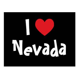 J'aime le Nevada Carte Postale