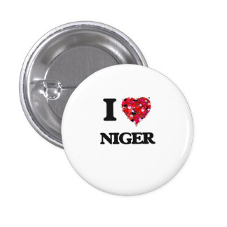 J'aime le Niger Badge