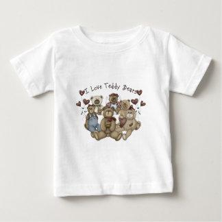 J'aime le nounours Heartsakes T-shirt Pour Bébé