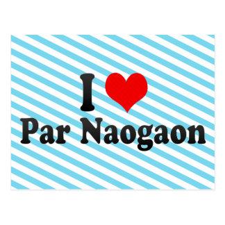 J'aime le pair Naogaon, Bangladesh Carte Postale