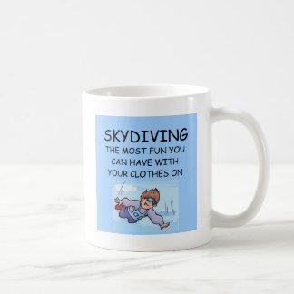 j'aime le parachutisme mug