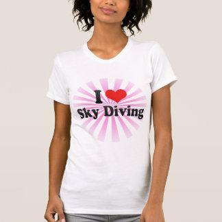 J'aime le parachutisme t-shirt