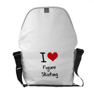 J'aime le patinage artistique sacoche