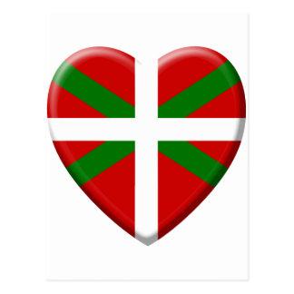 j'aime le pays Basque Carte Postale