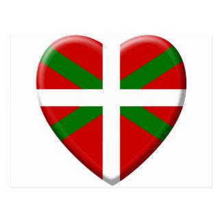 j'aime le pays Basque Cartes Postales