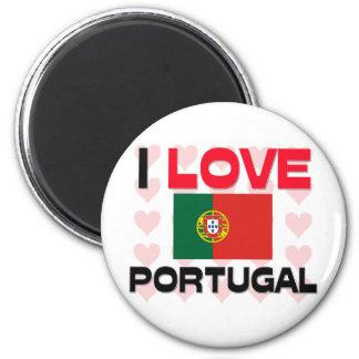 J'aime le Portugal Magnets Pour Réfrigérateur