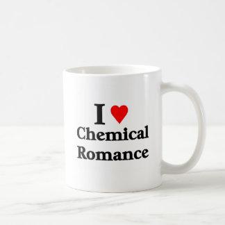 J'aime le produit chimique Romance Tasses
