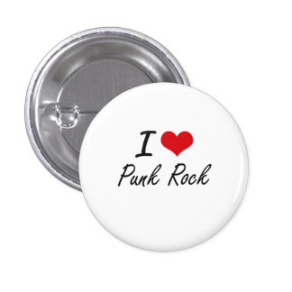 J'aime le PUNK ROCK Badge