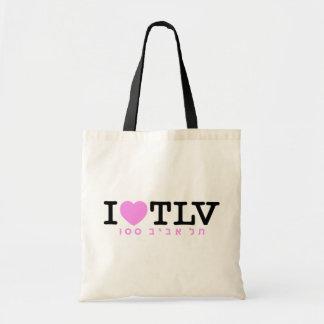 J'aime le sac de Tel Aviv 100 % pipe%