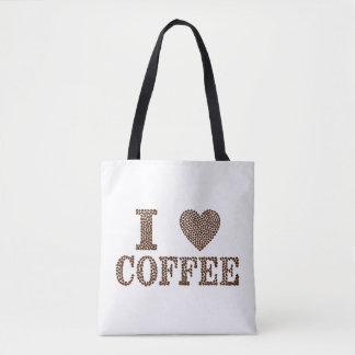 J'aime le sac fourre-tout à café