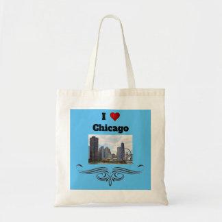 J'aime le sac fourre-tout à Chicago