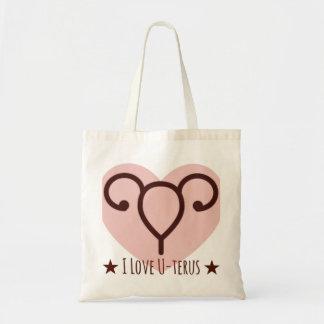 J'aime le sac fourre-tout à utérus