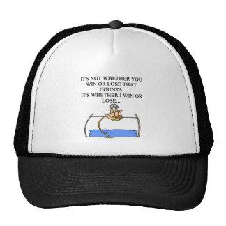 j'aime le saut à la perche casquette