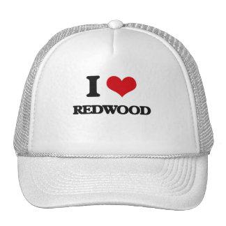 J'aime le séquoia casquette