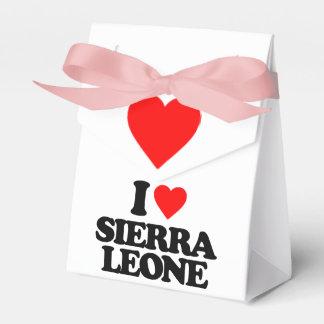 J'AIME LE SIERRA LEONE BOITES DE FAVEUR