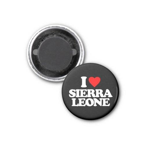 J'AIME LE SIERRA LEONE AIMANT