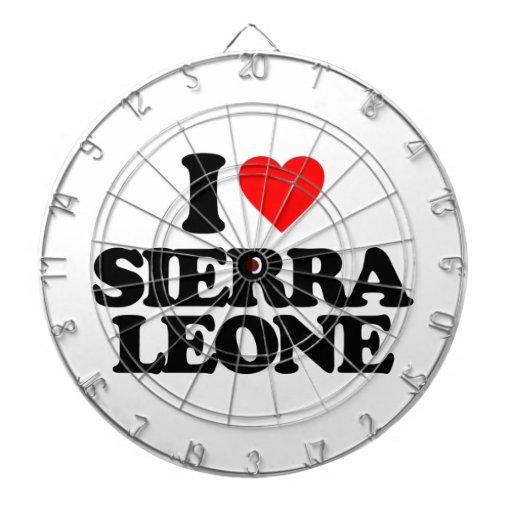 J'AIME LE SIERRA LEONE JEU DE FLÉCHETTES