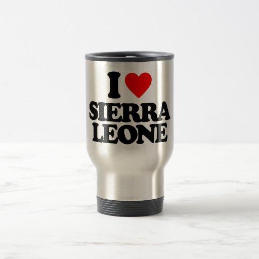 J'AIME LE SIERRA LEONE TASSE À CAFÉ