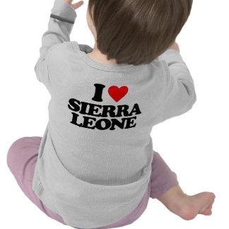 J'AIME LE SIERRA LEONE T-SHIRTS