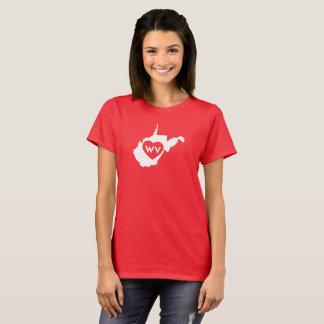 J'aime le T-shirt (blanc) des femmes d'état de la