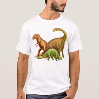 J'aime le T-shirt d'adulte de dinosaures