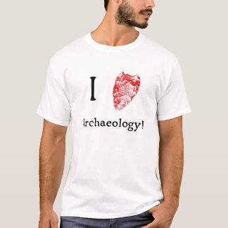 J'aime le T-shirt d'archéologie