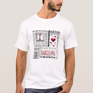 J'aime le T-shirt de Barcelone