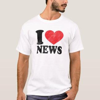 J'aime le T-shirt de base de nouvelles