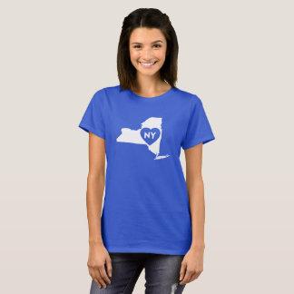 J'aime le T-shirt de base des femmes de l'état de
