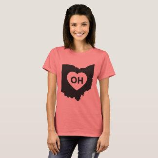 J'aime le T-shirt de base des femmes d'état de