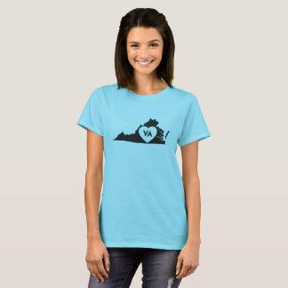 J'aime le T-shirt de base des femmes d'état de la