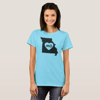 J'aime le T-shirt de base des femmes d'état du