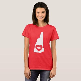 J'aime le T-shirt de base des femmes d'état du New