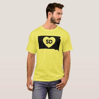 J'aime le T-shirt de base des hommes d'état du