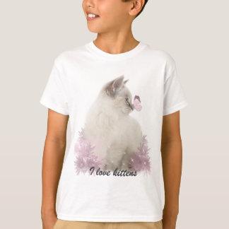 J'aime le T-shirt de chatons