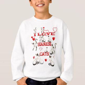 J'AIME le T-shirt de CHATS SIAMOIS