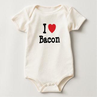 J'aime le T-shirt de coeur de lard
