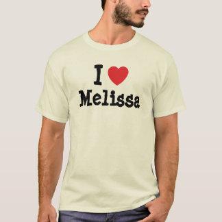 J'aime le T-shirt de coeur de MELiSSA