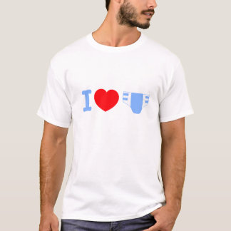 J'aime le T-shirt de couches-culottes