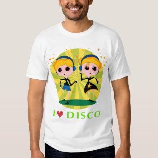 J'aime le T-shirt de disco