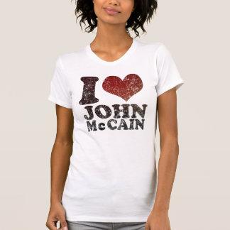 J'aime le T-shirt de John McCain