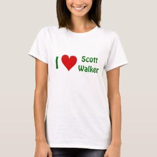J'aime le T-shirt de marcheur de Scott - TOUT LE