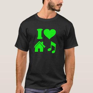 J'aime le T-shirt de musique de Chambre
