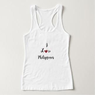 J'aime le T-shirt de Philippines
