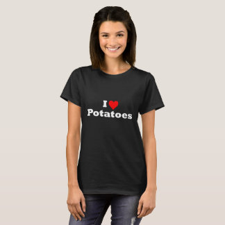 J'aime le T-shirt de pommes de terre