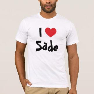 J'aime le T-shirt de Sade