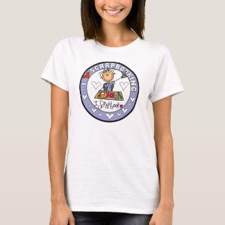 J'aime le T-shirt de Scrapbooking